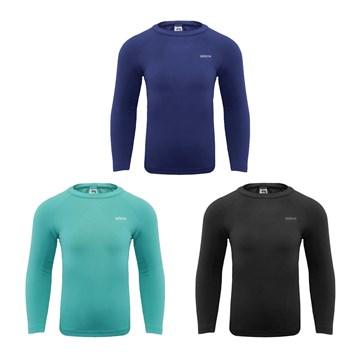 Kit 3 Camisas Térmicas Selene Proteção UV Manga Longa Infantil