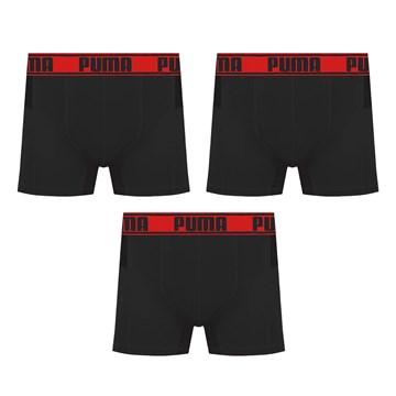 Kit 3 Cuecas Boxer Puma Active Masculino