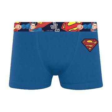 Kit 3 Cuecas Boxer Selene Superman Infantil - Azul