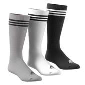 Kit 3 Pares de Meia Adidas Knee 3S HC 3P Adulto