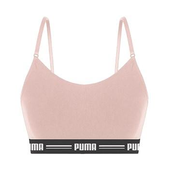 Kit 3 Tops Puma Modal Stretch Feminino - Preto/Branco/Rosa