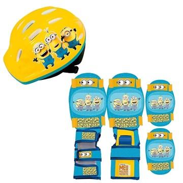 Kit de Proteção Ric Brinc Minions Infantil