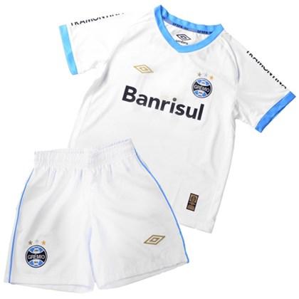 Kit Infantil Gremio Oficial Umbro Camisa + Short 3G04001 2f093723f6794