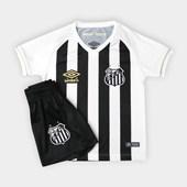 Kit Infantil Santos Umbro Oficial 2 2018