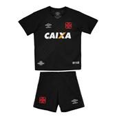 Kit Infantil Umbro Vasco Oficial 3 17-18