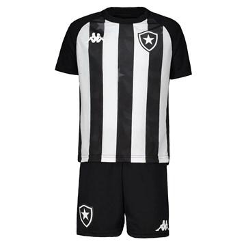 Kit Kappa Botafogo Oficial I 2019/20 Infantil