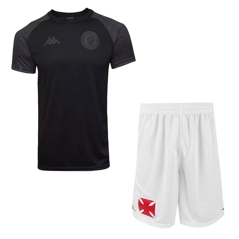 Kit Kappa Vasco Camisa R. e Igualdade + Calção II 2020 Masculino
