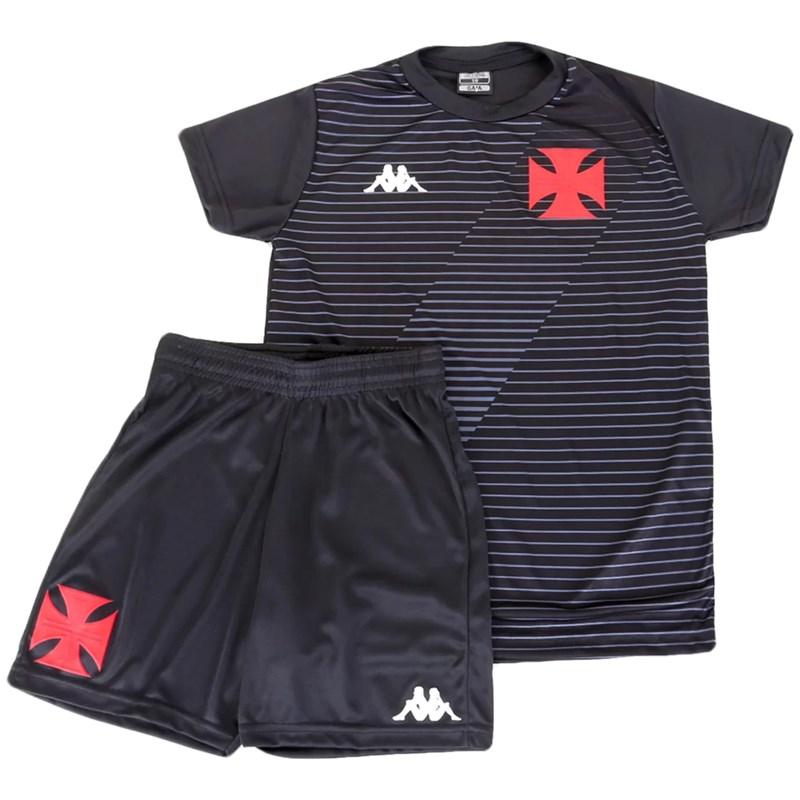 Kit Kappa Vasco da Gama Supporter Infantil