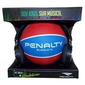 Kit Penalty Bola + Headhone Basquete VII