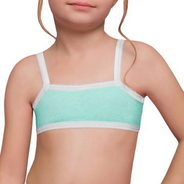 Kit Selene 1 Top + 2 Calcinhas Infantil