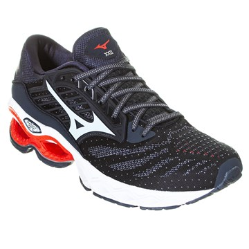 Kit Tênis Mizuno Wave Creation 22 Masculino + 3 Pares de Meia
