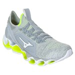 Kit Tênis Mizuno Wave Prophecy X Knit Masculino + 3 Pares de Meia