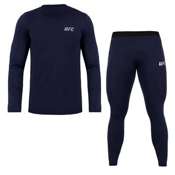 Kit Térmico Compressão UFC Camisa + Calça Training Masculino