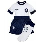 Kit Topper Remo II Camisa + Short + Meião Infantil