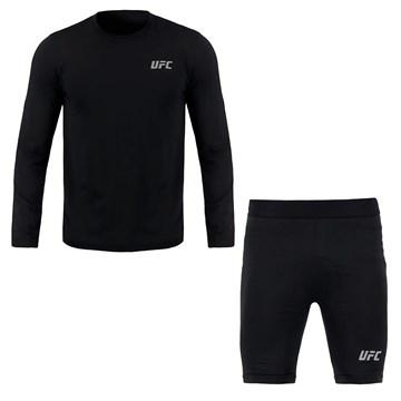 Kit UFC Compressão Camisa + Bermuda Training Masculino