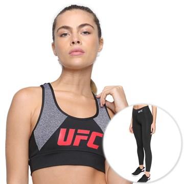 Kit UFC Top Insert + Legging Essential Feminino