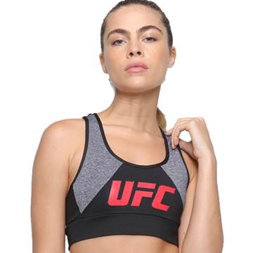 Kit UFC Top Inserts + Bermuda Essential Feminino