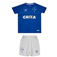 Kit Umbro Cruzeiro Oficial I 2018 Infantil