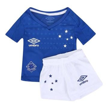 Kit Umbro Cruzeiro Oficial I 2019 Infantil