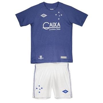 Kit Umbro Cruzeiro Oficial III 2016 Infantil