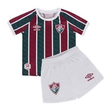Kit Umbro Fluminense Oficial I 2020 Infantil