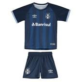 Kit Umbro Grêmio III 17/18 Infantil