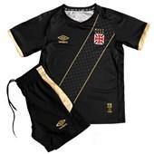 Kit Vasco Infantil Umbro Oficial 3 Camisa + Short 3V04002