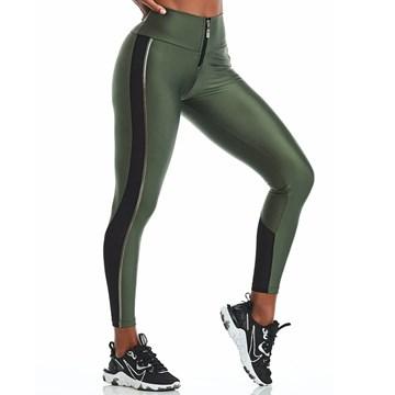 Legging Cajubrasil Atletika Silver Feminina
