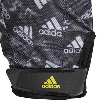 Luva Adidas Estampada 4Athlts Vers - Preto e Cinza