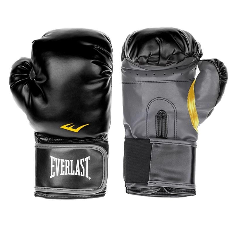 Luva de Boxe Everlast Treino Classic - Preto
