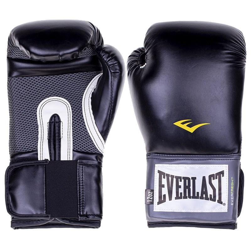 Luva de Boxe Everlast Treino Pro Style - Preto