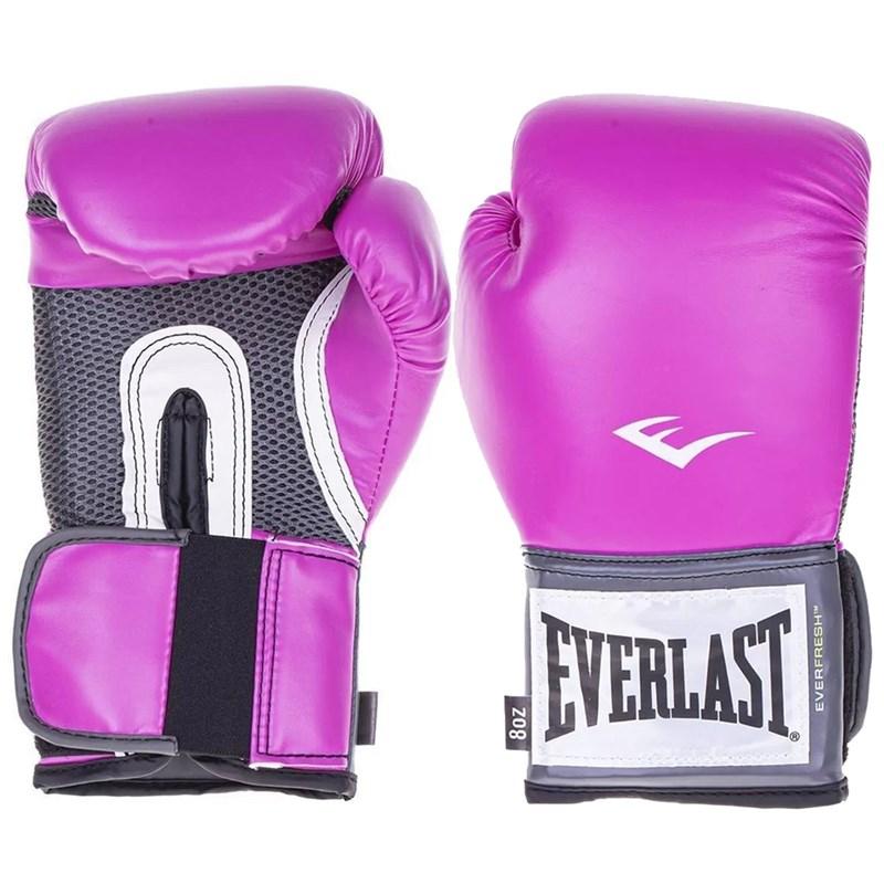 Luva de Boxe Everlast Treino Pro Style - Rosa