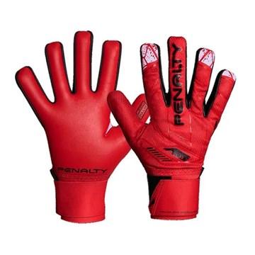 Luva Goleiro Penalty Delta Fit Training X - Vermelho
