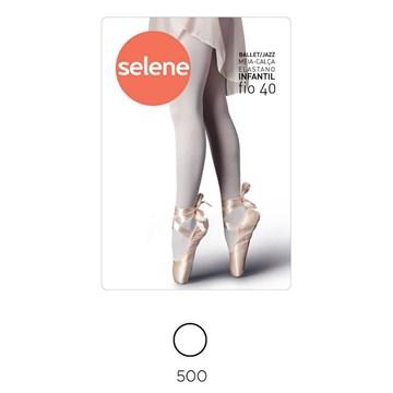 Meia Calça Selene Ballet/Jazz Infantil - Branco