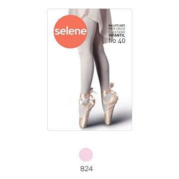 Meia Calça Selene Ballet/Jazz Infantil - Rosa