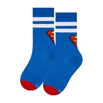 Meia Selene Liga da Justiça Superman Cano Longo Infantil