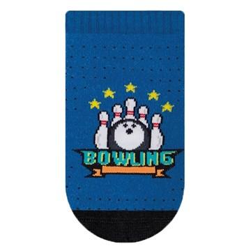 Meia Selene Sapatilha Meninos Bowling Infantil