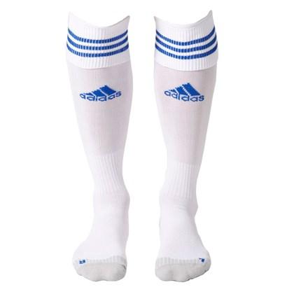 Meião Adidas Aditop 3 Litras - Branco e Azul - Esporte Legal f794a1ab36912