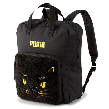 Mochila Puma Animals Backpack Cat - Preto