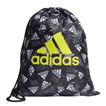 Mochila Saco Adidas Gym - Preto e Branco