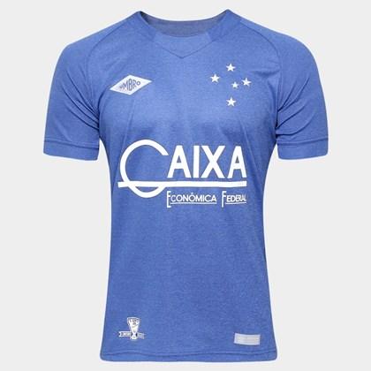 57b92ea2dc Nova Camisa Cruzeiro Umro Oficial 3 n10 3E00016 - EsporteLegal