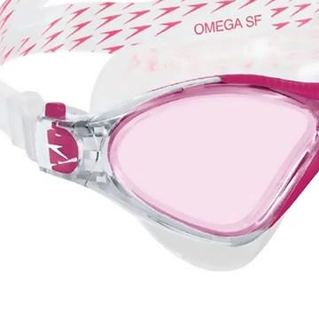 Óculos Natação Speedo Omega SF - Rosa