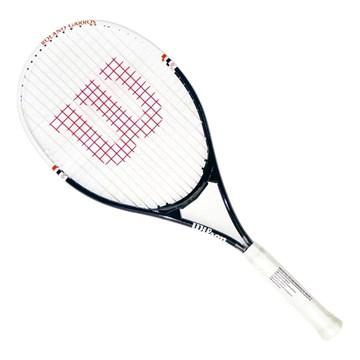 Raquete de Tênis Wilson Roland Garros 2 Elite - Marinho e Branco