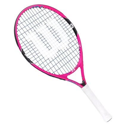 82c1ff50b Raquete Wilson Tennis Burn PK 23 Infantil - Rosa - Esporte Legal