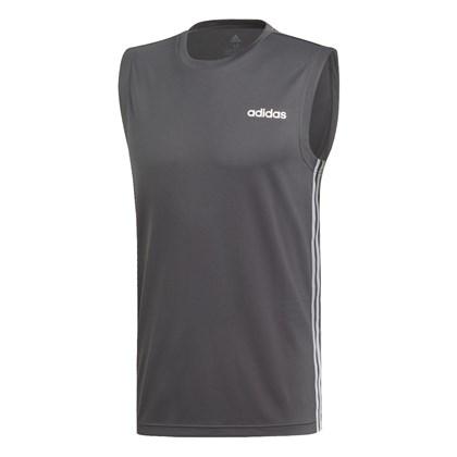 eb1636a0ab71e Regata Adidas Design 2 Move 3 Stripes Masculina - EsporteLegal