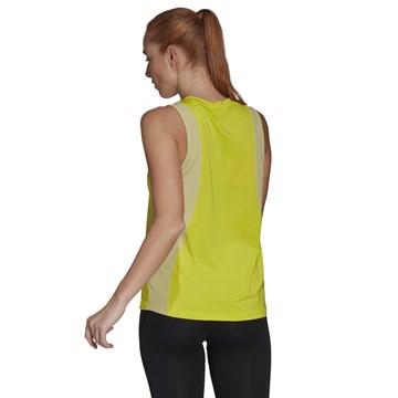 Regata Adidas Designed To Move Aeroready Feminina - Amarelo