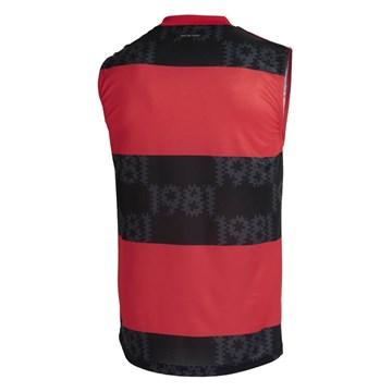Regata Adidas Flamengo I 2021/22 Masculina - Vermelho e Preto