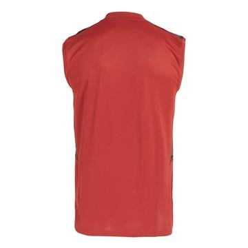 Regata Adidas Flamengo Treino 2021/22 Masculina - Vermelho