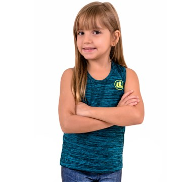 Regata Esporte Legal Infantil Rajada Plank Feminina
