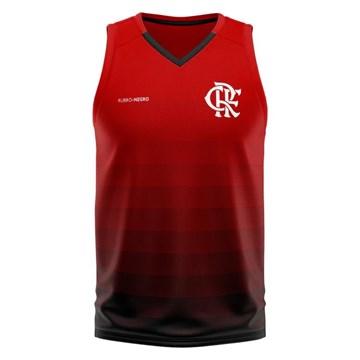 Regata Flamengo Braziline Forget Masculina - Vermelho e Preto
